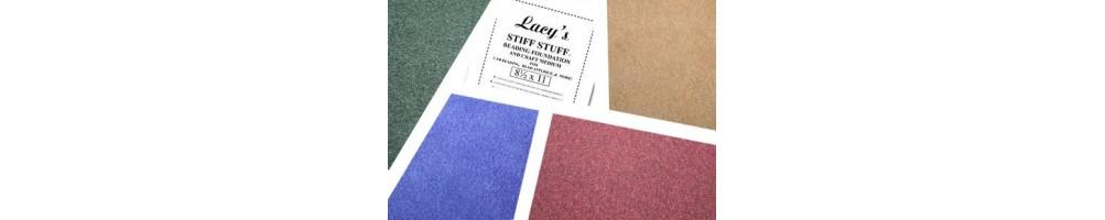 Ultra Suede e Lacy's Stiff Stuff